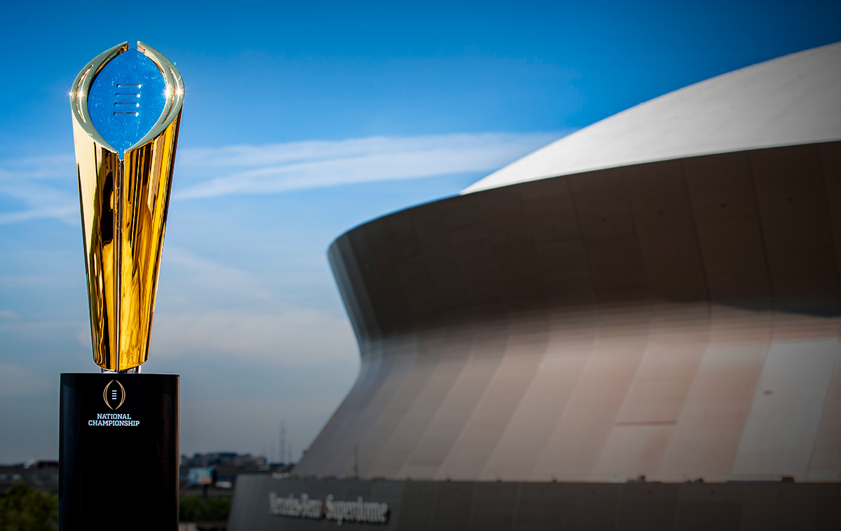 2020 College Football Playoff Schedule New Orleans 2020   College Football Playoff